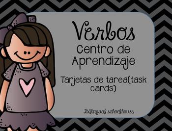Verbos- tarjetas de tarea (task cards)