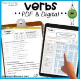 Action Verbs   Helping Verbs    Irregular Past Tense Verbs   Linking Verbs