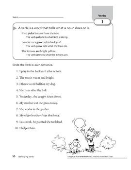 Verbs 01: Identifying Verbs