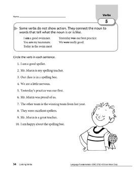 Verbs 03: Linking Verbs