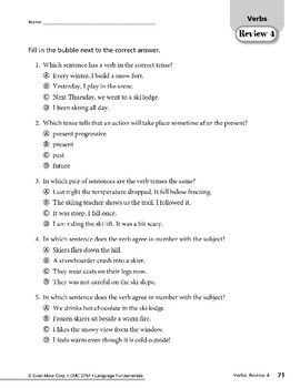 Verbs 10: Review