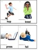Autism - 100 Real Life Picture/Word Verb Cards For Visual Learners