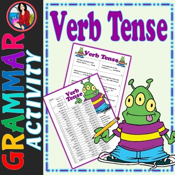 Verb Tense Activity featuring Choose the Correct Verb and Tense
