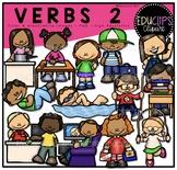 Verbs 2 Clip Art Bundle {Educlips Clipart}