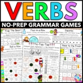 Verbs Games: Verb Tenses, Irregular Verbs, Past Tense, Future Tense...