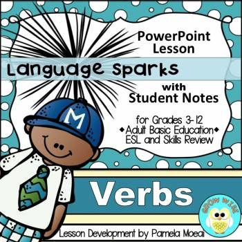 Verbs PowerPoint and Student Notes Newly Revised