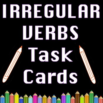Irregular Verbs Literacy and Writing Activities