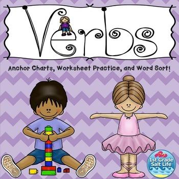 Verbs Activites / Verbs Practice / Verbs Worksheets