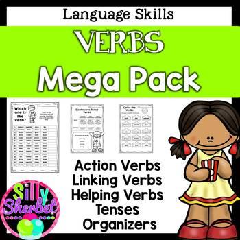 Verb Pack - action, regular, irregular, linking etc