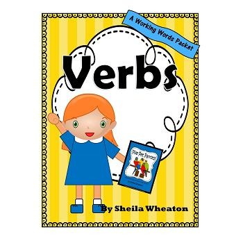 Verbs:  A Working Words Packet for Young Readers