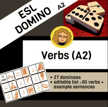 Verbs A2 (Dominoes)