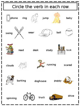 Verbs, Action, Being, Helping