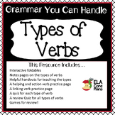 Verbs~ Action Verbs, Helping Verbs, Linking Verbs