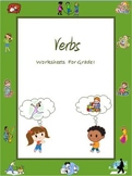 Verbs Worksheets (Action Words) for Grade 1 /Google Classr