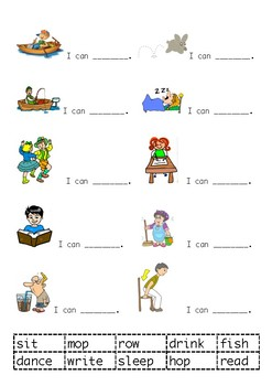 Cut and Paste Verbs
