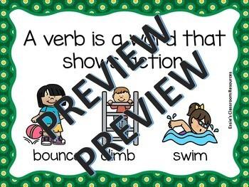 Parts of Speech Verbs