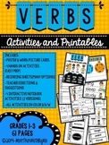 Verbs: Activities and Printables {Grades 1-3}