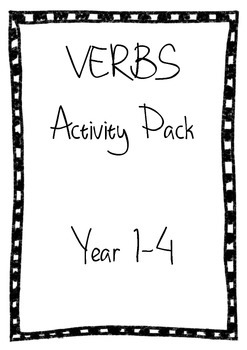 Verbs Activity Pack