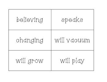 Verbs Activity Pack - Common Core Aligned