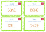 Verbs Activity Task Cards - BUNDLE