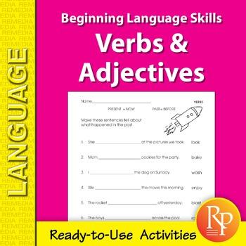 Verbs & Adjectives: Beginning Language Skills