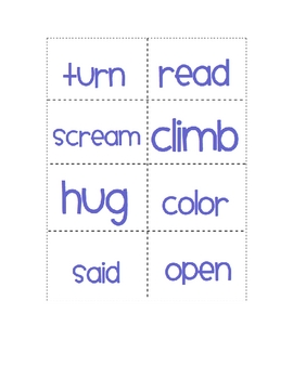 Verbs, Adjectives, and Nouns- Oh My!