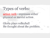 Verbs, Adverbs, and Prepositions PowerPoint