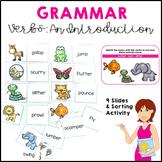 Parts of Speech: Verbs An Introduction Grammar