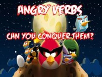 Verb PowerPoint  'Angry Verbs'