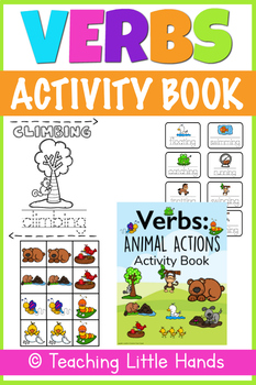 Verbs - Animal Actions - Activity Book