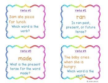 Verbs Activity