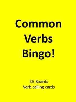 Common Verbs BINGO!