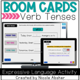 Verbs BOOM™ Cards for Speech Therapy Distance Learning