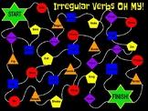 Verbs Board Game