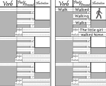 Verbs Book + Noun book + Reading Log