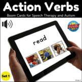 Action Verbs BOOM CARDS™ Set 1