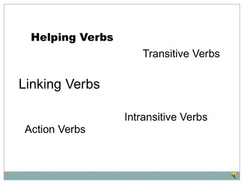 Verbs Can Be Vivacious