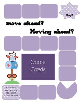 Verbs - Center Game, Worksheet, Hallway Cards, Assessments