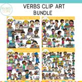 Verbs Clip Art Bundle {Whimsy Clips Phonics Clip Art}