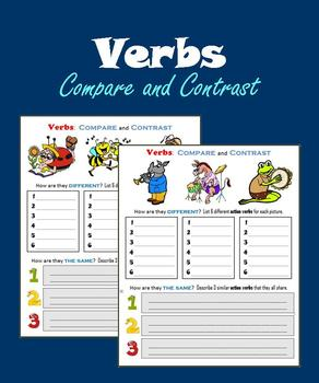 Verbs:  Compare and Contrast