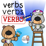 Verbs Cut and Paste Activities