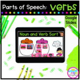 Verbs Digital Activities for Google Slides Distance Learning