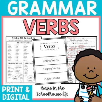 Verbs - Engaging Activities to Teach Grammar