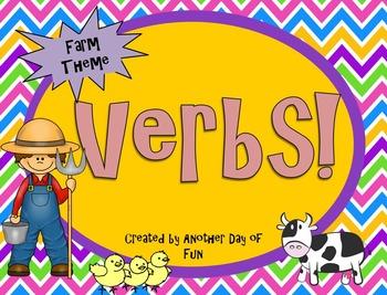 Verbs- Farm Theme