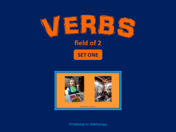 Verbs - Field of 2 (Set One)