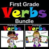 Verbs First Grade Bundle