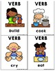 Verbs Flashcards: Busy People Version