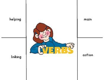 Verbs Foldable