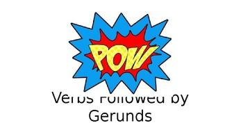Verbs Followed by Gerunds PPT