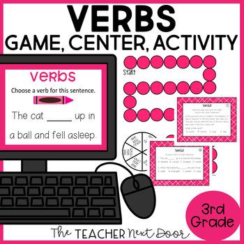 Verbs Game | Verbs Center | Verbs Activities